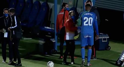 Aldair Fuentes: ¿Qué tan grave es la lesión que sufrió en su debut con Fuenlabrada?