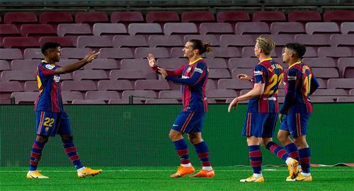 Ansu Fati lidera goleada del Barcelona sobre el Villarreal