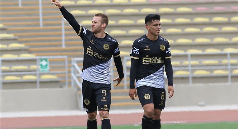 Danilo Carando volvió a anotar con Cusco FC. Foto: Prensa FPF