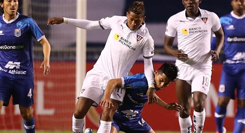 Binacional cayó goleado 4-0 ante LDU de Quito y quedó eliminado de la Copa Libertadores