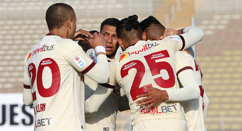 Universitario comanda la Liga 1. Foto: Prensa FPF