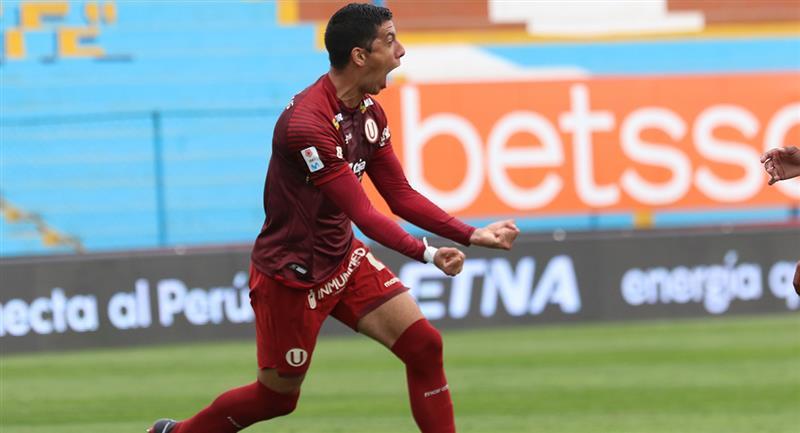 Federico Alonso anotó en la goleada de Universitario. Foto: Prensa FPF