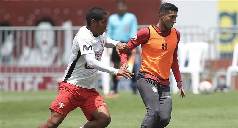 Selección Peruana entrenó en la Videna. Foto: FPF