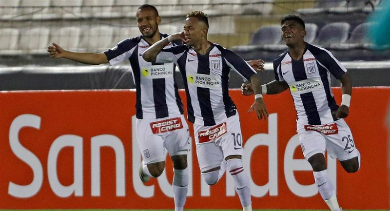 Alianza Lima empató 2-2 con Estudiantes de Mérida. Foto: EFE