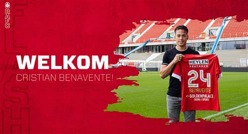 Cristian Benavente fue oficializado como nuevo jugador del Royal Antwerp de Bélgica