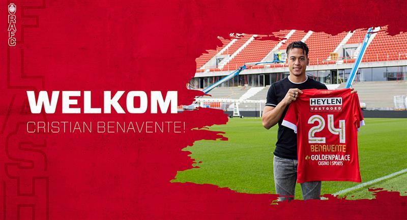 Benavente retorna a la liga belga. Foto: Twitter Club Royal Antwerp