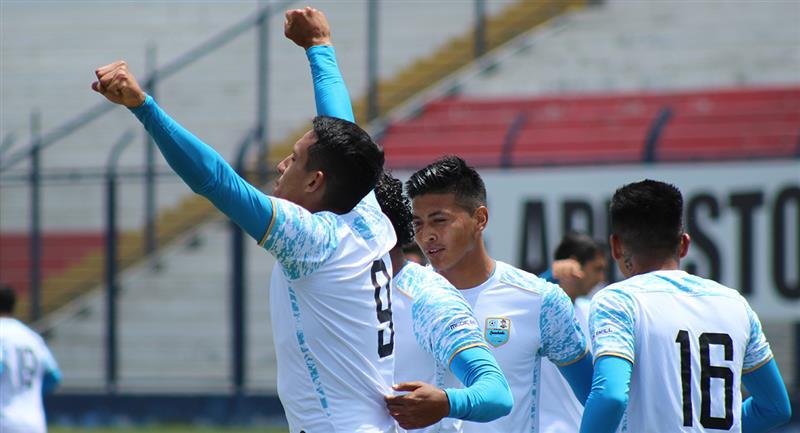 Alex Valera marcó uno de los goles. Foto: Prensa FPF