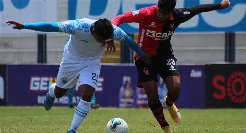 Deportivo Llacuabamba y Melgar igualaron en el Estadio Iván Elías Moreno. Foto: Prensa FPF