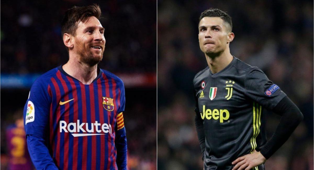Sorteo de la Champions League dictaminó duelo entre Lionel Messi y Cristiano Ronaldo. Foto: Twitter