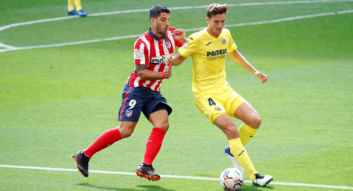 Atlético Madrid y Villarreal igualaron a cero. Foto: EFE