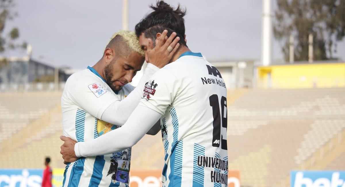 Enzo Maidana marcó de cabeza a los 46 minutos. Foto: Prensa FPF
