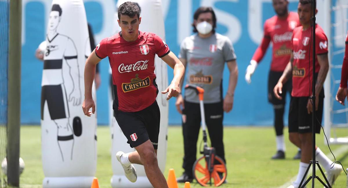 Selección Peruana trabajó de forma completa. Foto: Twitter @SeleccionPeru