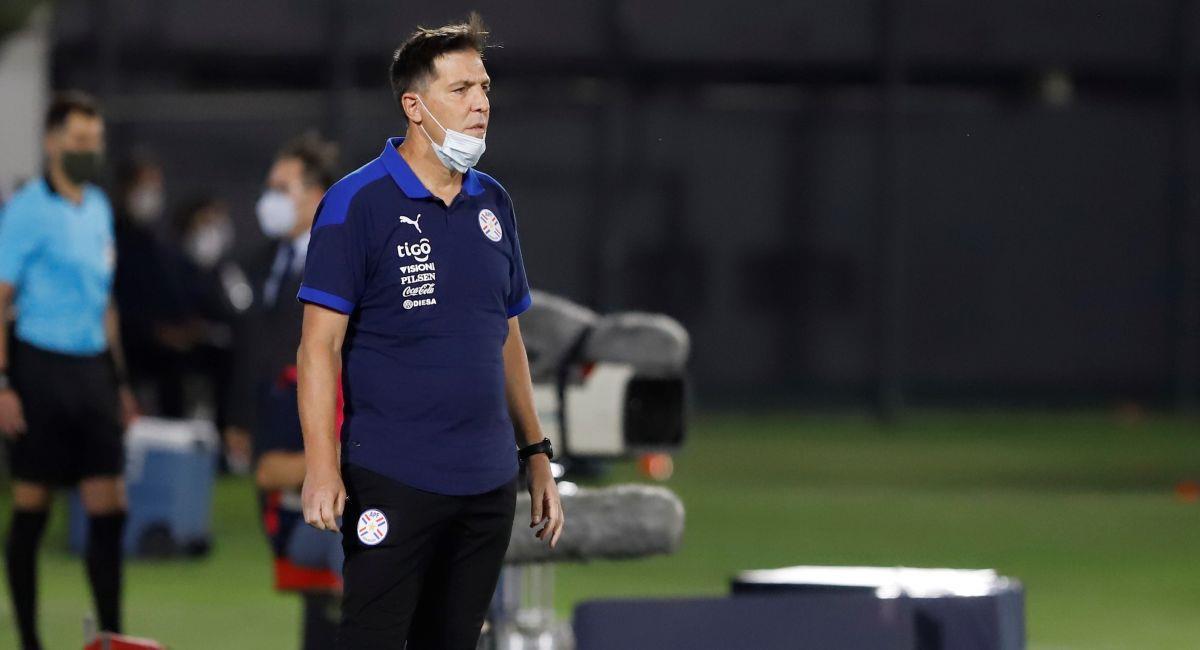 Eduardo Berizzo tranquilo pese al empate entre Perú y Paraguay en Asunción. Foto: EFE
