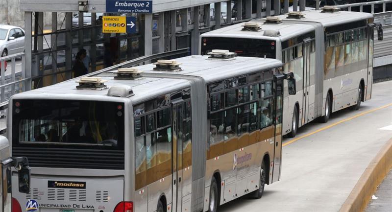 Los servicios Expresos del Metropolitano, tendrá un nuevo horario. Foto: Andina