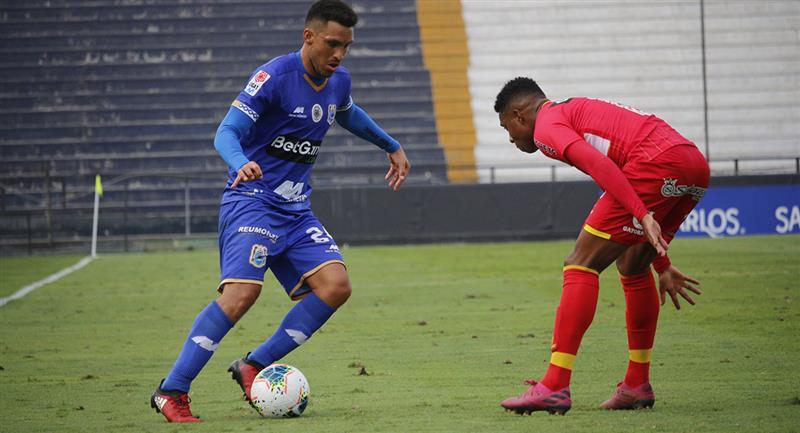 Binacional vs Sporting Cristal por la fecha 19. Foto: Prensa FPF