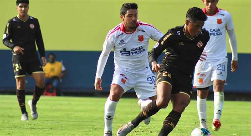 Atlético Grau y UTC empataron sin goles en Videna. Foto: Prensa FPF