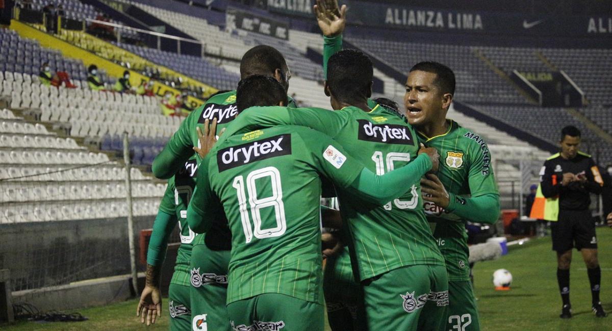 Giancarlo Carmona marcó el gol a los 22 minutos. Foto: Prensa FPF