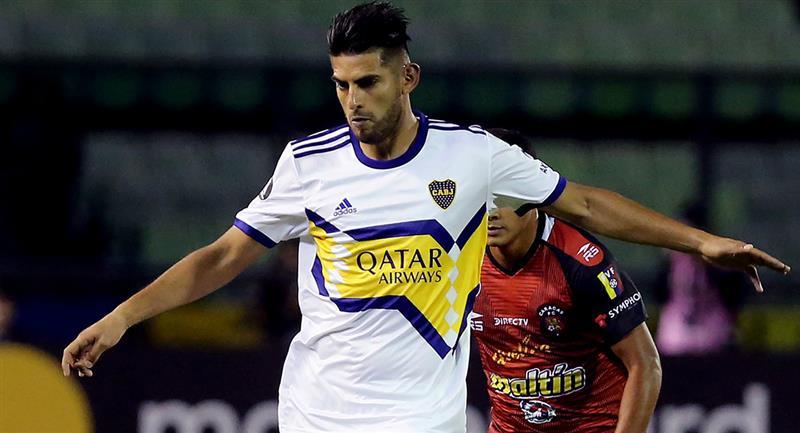 Carlos Zambrano no trabajó regularmente con Boca Juniors. Foto: Twitter Difusión