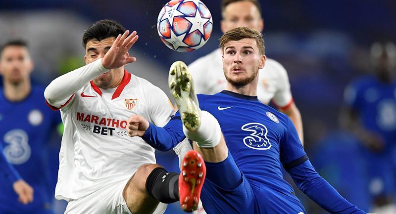 Chelsea y Sevilla se repartieron los puntos en Londres. Foto: EFE