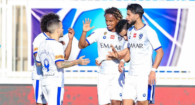 André Carrillo anotó para Al Hilal. Foto: Twitter Al Hilal