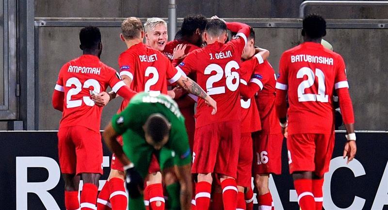 Royal Antwerp ganó de visita en la Europa League. Foto: EFE