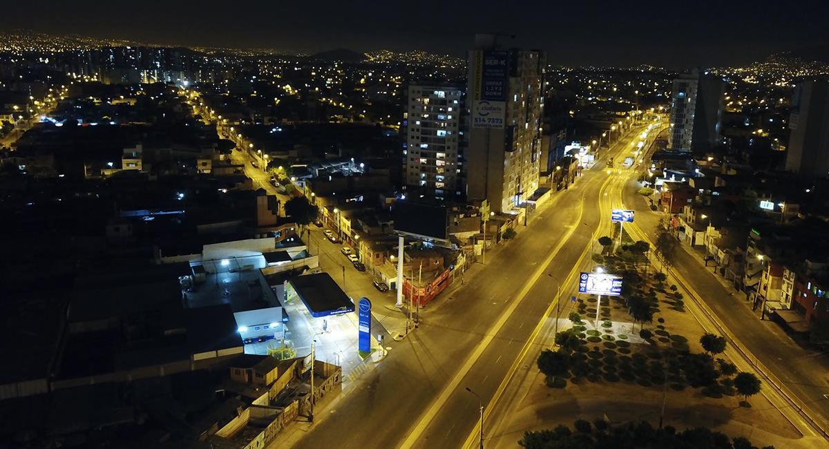 Toque de queda mantiene sus horarios vigentes. Foto: Andina