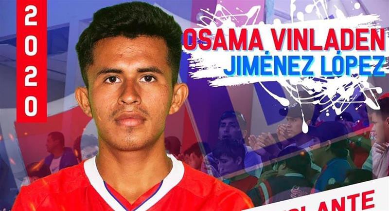 Osama Vinladen causó revuelo en redes sociales. Foto: Facebook Unión Comercio