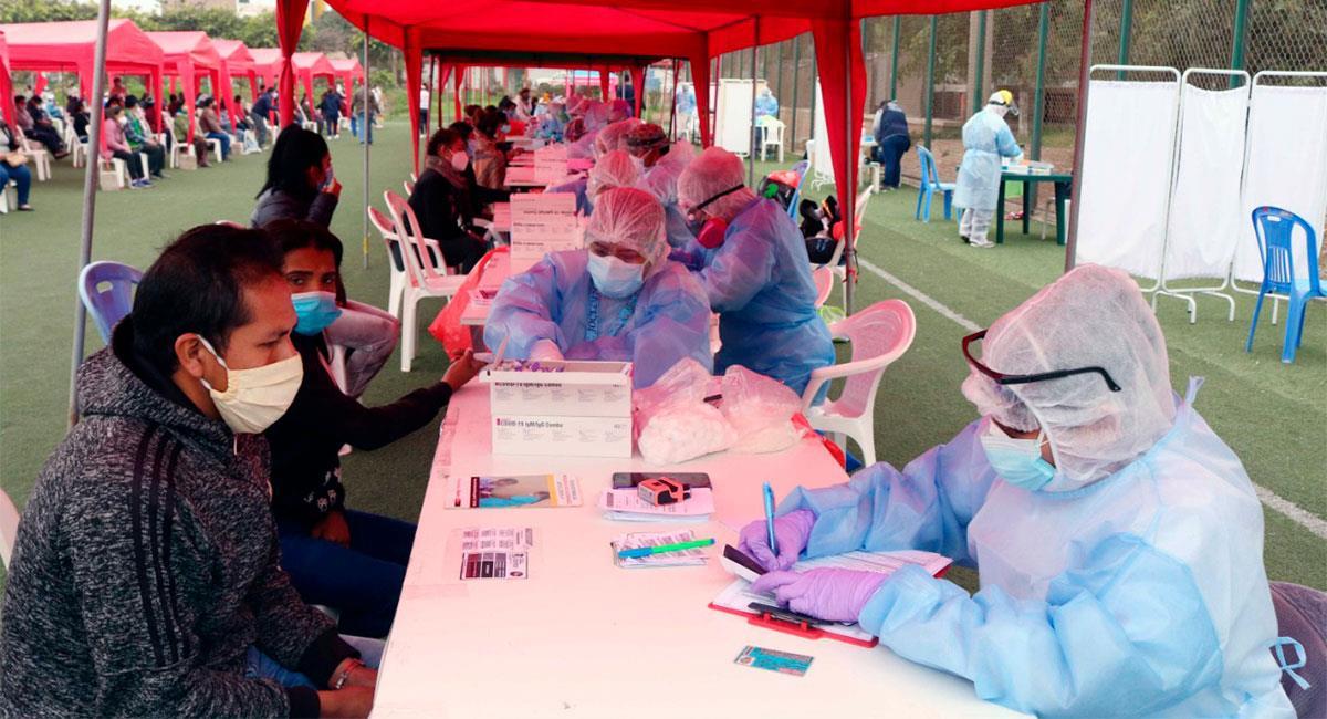 2767 nuevos casos de coronavirus se registraron en Perú. Foto: Twitter @Minsa_Peru