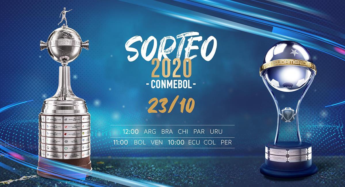 Libertadores y Sudamericana entran a su recta final. Foto: Twitter Conmebol