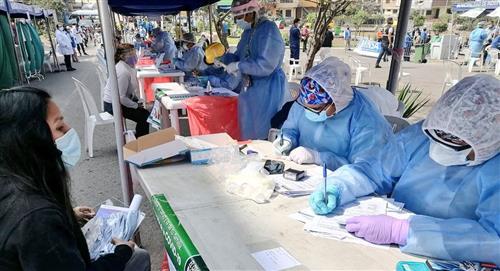 Covid 19 en Perú: reporte de infectados de coronavirus hasta el 22 de octubre