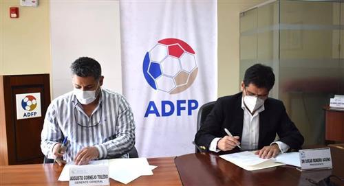 Liga 1: ADFP firma convenio de Asistencia y Rehabilitación Deportiva Especializada