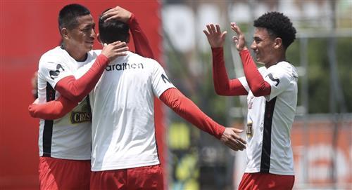 Selección Sub 20 ganó amistoso al Santos de Nazca
