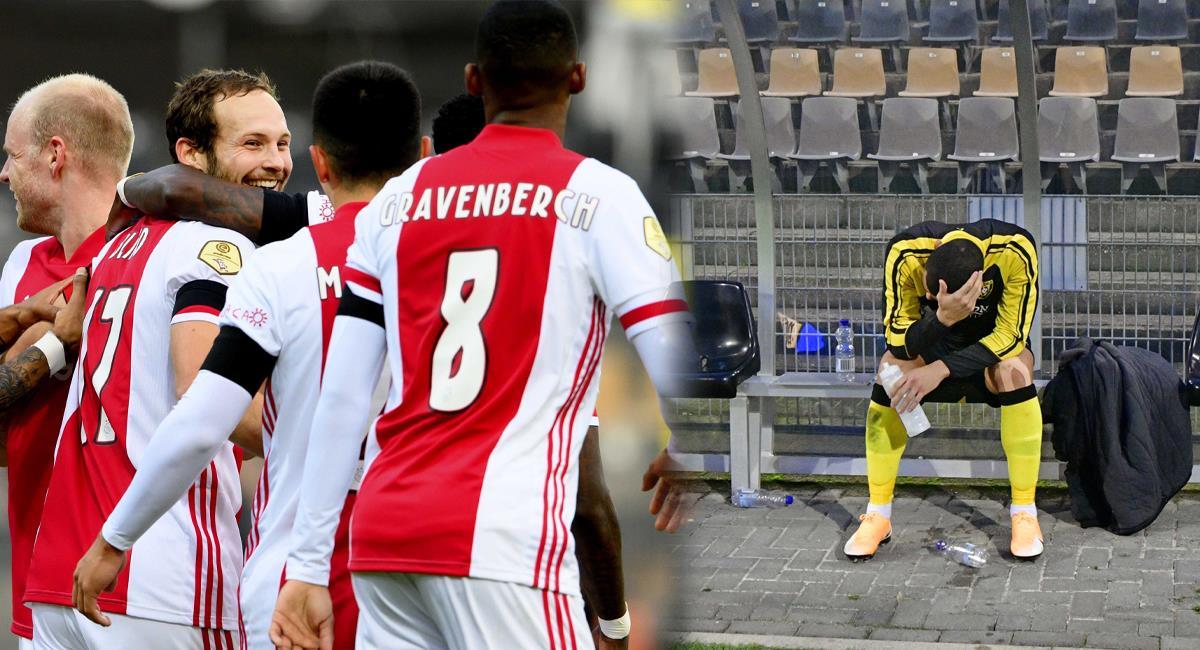 Ajax hace historia con un 13-0 sobre Venlo. Foto: EFE