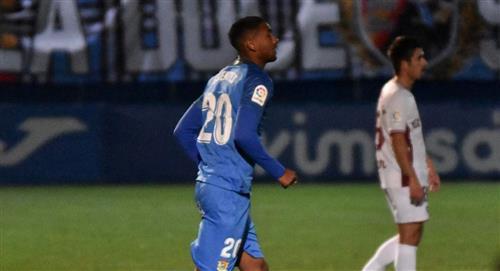 Aldair Fuentes presente en derrota de Fuenlabrada por 3-0 ante Almería por LaLiga SmartBank