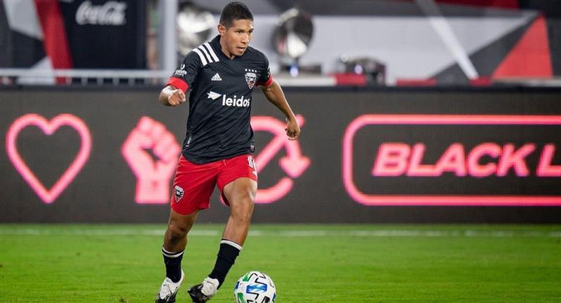 Edison Flores es una de las figuras del DC United,. Foto: MLS