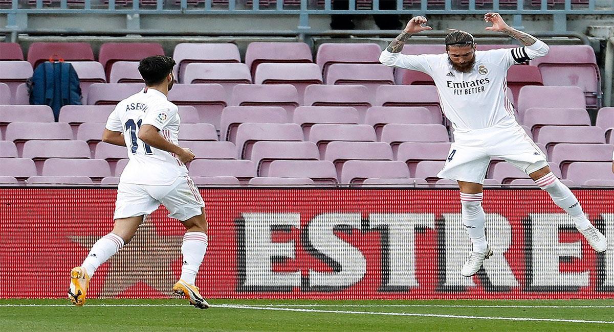 Real Madrid logró un gran triunfo ante Barcelona. Foto: EFE