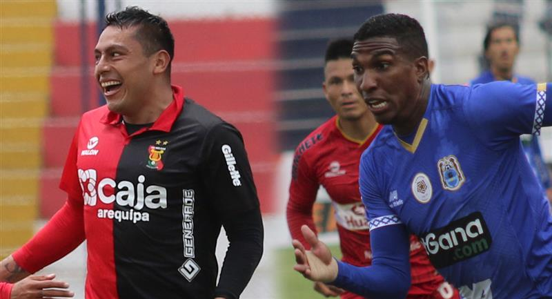 Omar Tejeda y Johan Arango en proceso de investigación. Foto: Prensa FPF