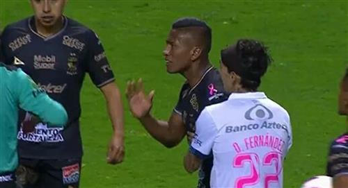 Pedro Aquino fue expulsado en el duelo entre Puebla y León por la fecha 15 de la Liga MX (VIDEO)