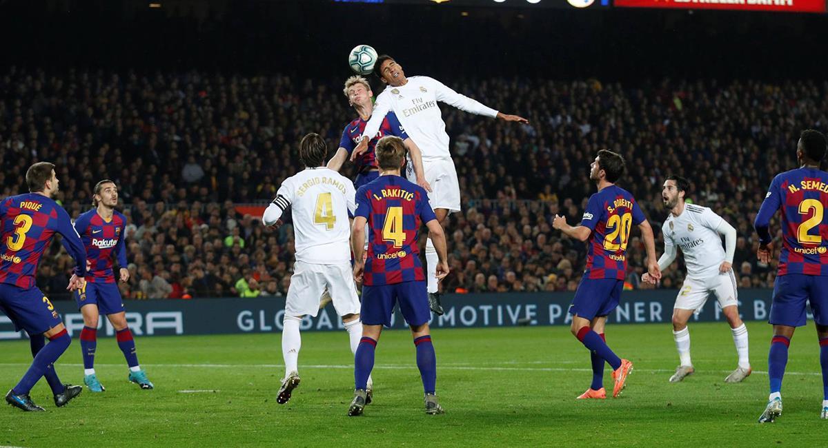 Barcelona y Real Madrid protagonizarán una edición más del clásico español en LaLiga. Foto: EFE