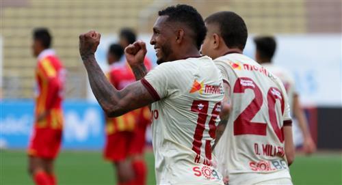 Universitario vs Atlético Grau: los goles del partido por la Liga 1