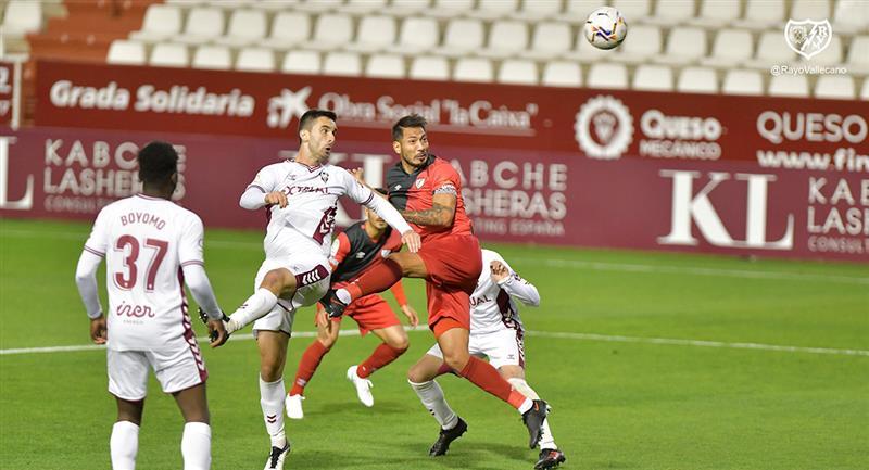 Rayo Vallecano no logró salir airoso en su visita a Albacete. Foto: Twitter @RayoVallecano