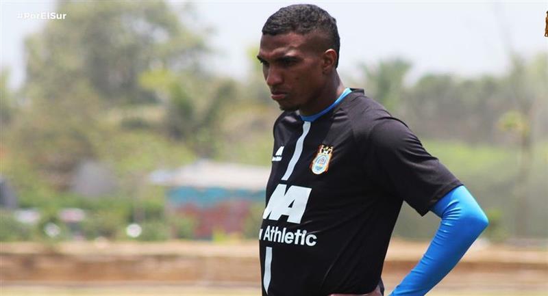 Johan Arango fue sancionado por Binacional. Foto: Facebook Club Binacional