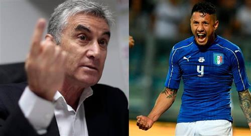 Juan Carlos Oblitas habló del caso Gianluca Lapadula