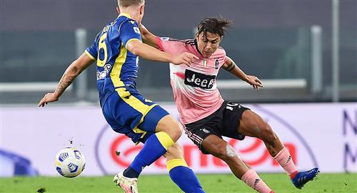 Juventus empató 1-1 con Hellas Verona por la fecha 5 de la Serie A