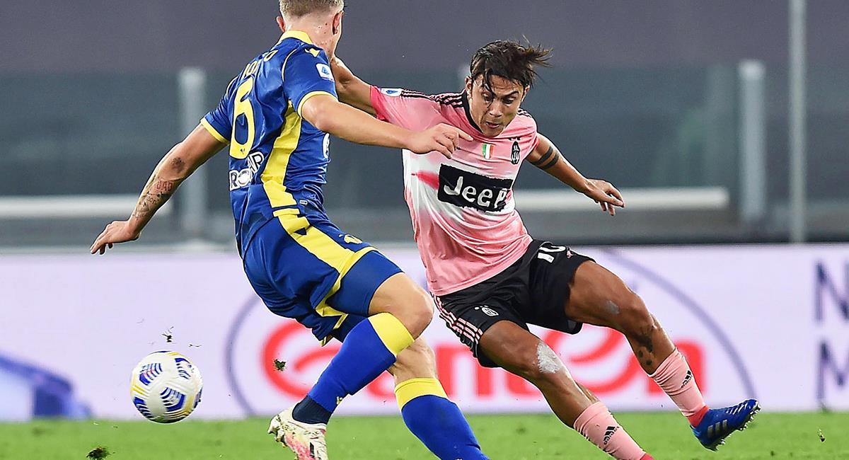 Juventus igualó 1-1 con Hellas Verona a tres días del duelo con Barcelona. Foto: EFE