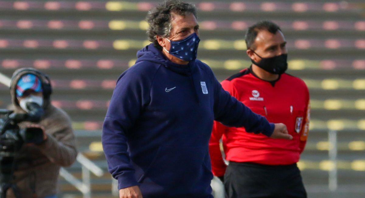 Mario Salas vive horas complicadas en Alianza Lima. Foto: Prensa de la FPF