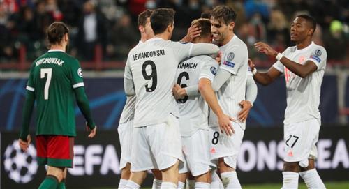 Bayern celebró en Rusia