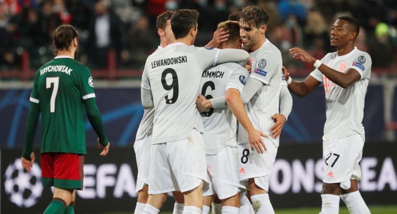Bayern Munich venció en la Champions al Lokomotiv Moscú. Foto: EFE
