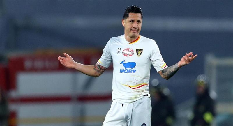 Gianluca Lapadula genera discusiones en el Perú. Foto: Club Lecce