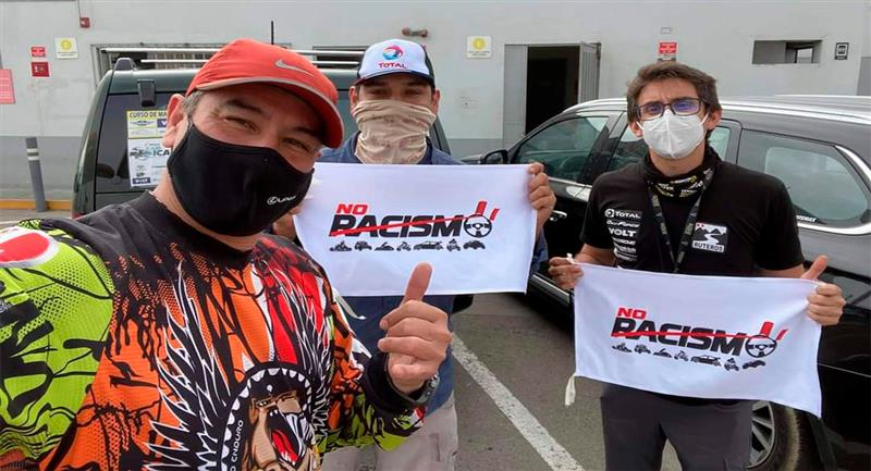 """Campaña """"No al racismo"""" ilumina el deporte peruano. Foto: Difusión"""